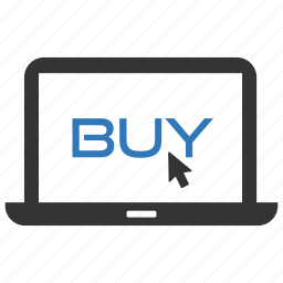 buy, laptop, online, shop, shopping, store, store online icon