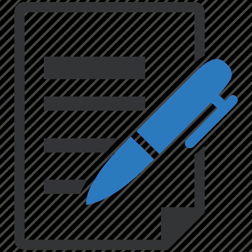 feedback, write icon