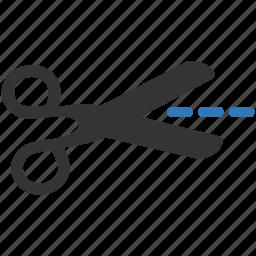 cut, instrument, scissors, tool icon