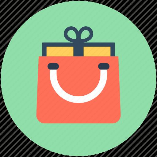 bag, gift, shopper bag, shopping, shopping bag icon