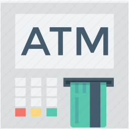 atm, atm machine, atm withdrawal, automated teller machine, cash machine icon