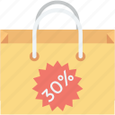 bag, discount, shopper bag, shopping, shopping bag icon