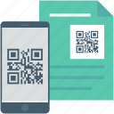 matrix code, mobile, qr code, qr file, qr scanner icon