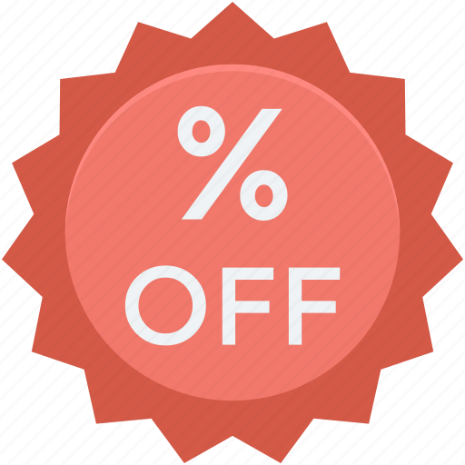 discount, offer, percent, price off, sale icon
