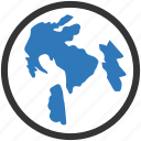 internet, map, online, world