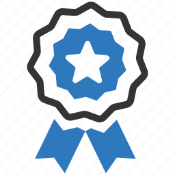 achievement, award, badge, best quality, prize, ribbon, winner icon