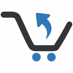 commerce, e, mall, retail, return, shop icon