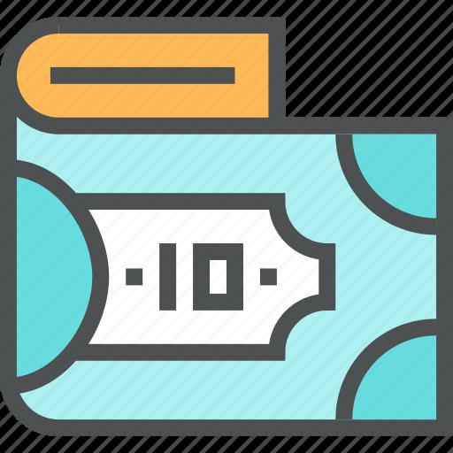 Banknote, bill, cash, denomination, dollar, finance, money icon - Download on Iconfinder