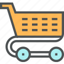 carriage, cart, consumerism, market, shop, shopping, supermarket, trolley icon