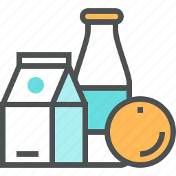 breakfast, drink, food, goods, grocery, products, shopping icon