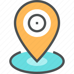 location, map, mapping, marker, navigation, pin, place, pointer icon