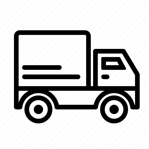 delivery, sales, truck icon