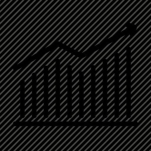 graph, sales, stats icon