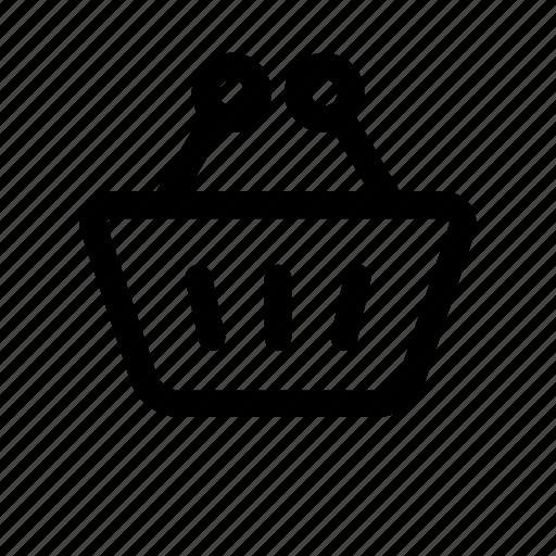 basket, buy, market, shop, shopping, shopping basket, store icon
