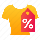 clothing, percentage, sale, t-shirt