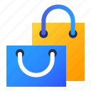 bags, packages, present, shopping icon