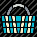 shopping basket, basket, buy, shopping, cart