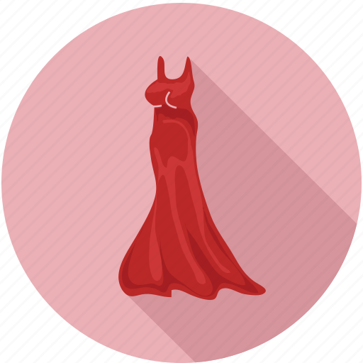 dress, female dress, lady dress, long dress, women, women dress icon