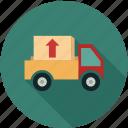 cargo, cargo service, delivery, delivery service icon