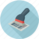 bar code reader, barcode reader, epos, point of sale, reader icon