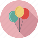 balloons, baloons icon