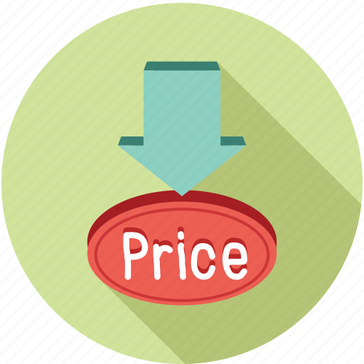 down price, price, price offer icon