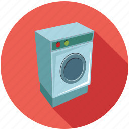 cleaning machine, home appliances, machine, washing machine icon