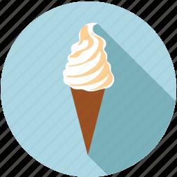 cone, food, ice cream, sweets icon