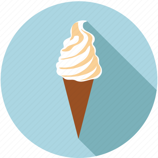 cone, food, ice cream, sweets icon