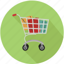cart, shopping, shopping cart icon