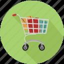cart, shopping, shopping cart icon