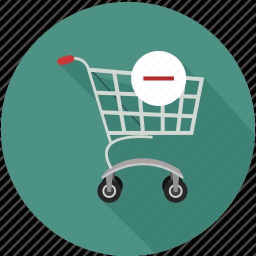 remove from shopping cart, shopping cart, shopping cart remove icon