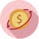 exchange money, funds, money, transfer, transfer funds, transfer money icon