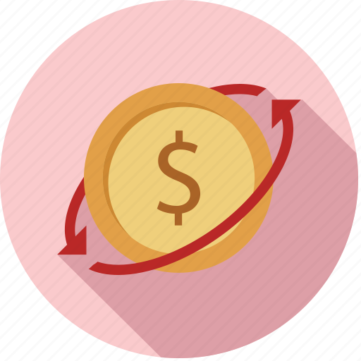 Exchange Money Funds Transfer Icon