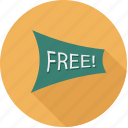 free, freebies, offers icon