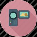 camcoder, camera, handy cam, handycam, movie camera, video camera, video maker icon