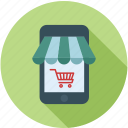 mobile, mobile cart, mobile shop, mobile shopping, shop in mobile, shopping, smart phone icon