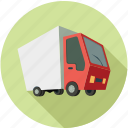 bus, cargo, delivery, delivery bus, van, vehicle icon