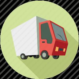 bus, cargo, delivery, delivery bus, van, vehicle icon