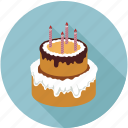 big cake, birthday cake, cake, large cake, wedding cake icon