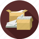 cargo, delivery package, package, packaging, shipment icon