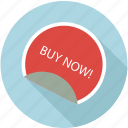 buy now, offer, sale, sticker icon