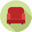 furniture, home decoration, interior, sofa icon