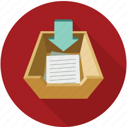 documents, documents bucket, download documents, downloads icon