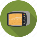 home appliances, kitchen, microwave, microwave oven, oven icon