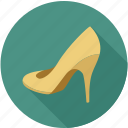 female shoe, girl shoe, heal, heal shoe, shoe, shoes, women shoe icon