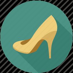 female shoe, girl shoe, heal, heal shoe, shoe, shoes, women shoe icon