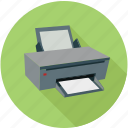 devices, hardware, printer, printing icon