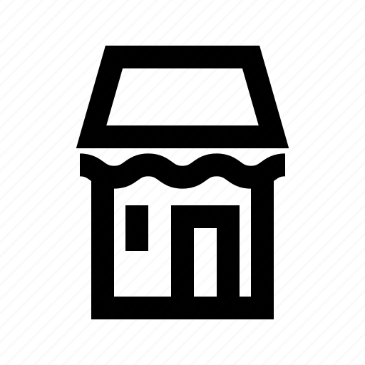 building, commerce, market, shop, supermarket icon