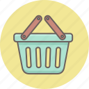 basket, buy, cart, ecommerce, online, shopping, trolley icon